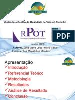 Artigo QVT Luis Honório