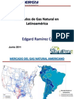 Mercados de Gas Natural en Latinoamerica.