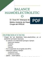 EQUILIBRIO HIDRO ELECTROLITICO