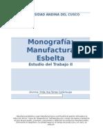 Monografia Manufactura Esbelta
