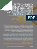 Pristup naknadi za priključak na prijenosnu i distribucijsku mrežu