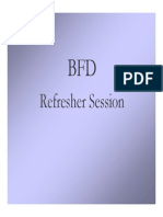BFD Refresher Sessions