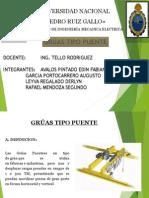 Grúa Tipo Puente