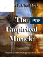 """""""THE EMPIRICAL MIRACLE"""" A Day In The Life of Missionary Joseph P. Chaddock. Read it Today — FREE!"""