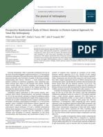 Prospective Randomized Study DA vs. PA