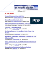Cooler Heads Digest 28 February 2014