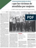 09-03-2015 Ivonne Álvarez y Adrián de la Garza presentarán iniciativa de reforma.