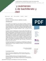 Resueltos de Bachillerato y Selectividad_ Ejemplo Comentario de Texto Castellano Resuelto