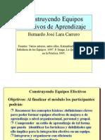 Como Organizar Equipo Efectivo de Aprendizaje 2005 02