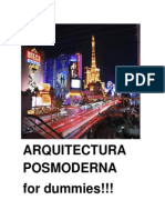 Arquitectura Posmoderna for Dummies