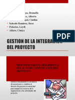 Gestion de La Integracion Project
