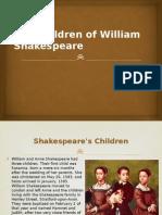 Shakespeare's Children