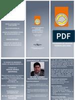 Tríptico Sesión Técnica 10 de Marzo 2015