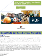 Global Child Day Care Service Market