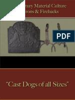 Food Preparation - Dog Irons, Andirons & Firebacks
