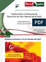 Exploración y Potencial Reservas Gas Natural en El Perú