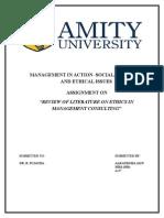 Ethics in Management Consulting-Aakanksha Jain