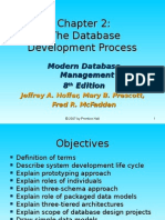 The Database Development Process