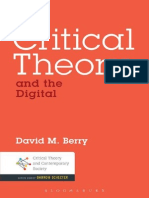 3 Berry - Critical Theory and the Digital