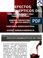 Defectos Organolepticos Del Vino