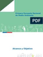 Informe Primera Encuesta Nacional de Medio Ambiente