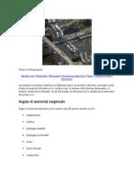 Informacion de Puentes
