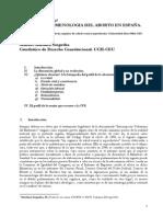 Fenomenología del aborto en España. M. Martínez  Sospedra (2013).pdf