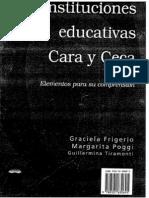 """""""Las instituciones educativas"""