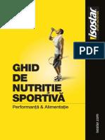 Ghidul Nutritiei Isostar 2012