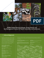 Wildlife Habitat Planning Strategies, Design Features And