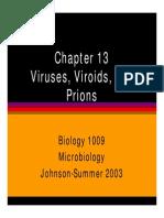 Microsoft PowerPoint - Bio1009ch13