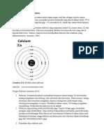 Definisi Dan Struktur Kalsium