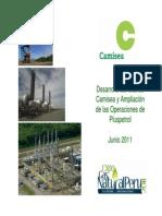 Desarrollo Del Gas de Camisesa y Aplicación de Las Operaciones de Plsupetrol