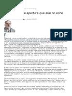 LA NACION Con El Papa. José Ma Porier
