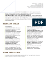 colleen m preston resume 5