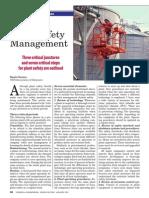 Effective Plant Safety Management