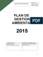 3.3.2 Plan de Ambiental