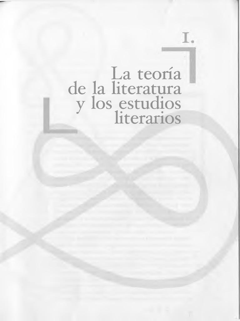 Manual de Literatura | Crítica literaria | Teoría literaria
