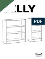 Billy-bibliotheque Notice de Montage