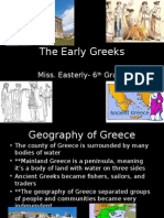 early greeks notes