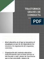 Trastornos Graves de Conducta Educacic3b3n y Familia1