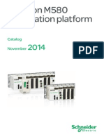 Modicon M580 Automation Platform Catalogue