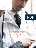 Accenture Life Sciences Sales Marketing Overview
