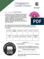 anti bullying tshirt order form