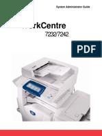 Xerox 7242 Admin Manual