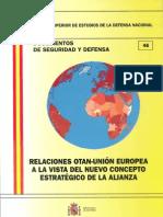 046 Relaciones Otan Union Europea a La Vista Del Nuevo Concepto Estrategico de La Alianza