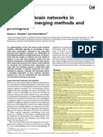 Bressler Steven & Menon Vinod, Large-scale Brain Networks in Cognition - Emerging Methods...