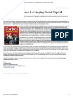 Forbes India Magazine - Marwari Businesses_ Leveraging Social Capital