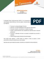 2015 1 Administração 2 Contabilidade Geral