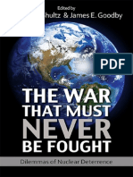 The War That Must Never Be Fought - Preface, Edited by George P. Shultz and James E. Goodby